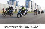 shymkent  kazakhstan   october... | Shutterstock . vector #507806653