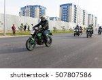 shymkent  kazakhstan   october... | Shutterstock . vector #507807586
