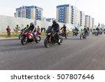 shymkent  kazakhstan   october... | Shutterstock . vector #507807646