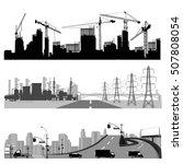 vector illustration.city... | Shutterstock .eps vector #507808054