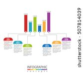 infographic business template... | Shutterstock .eps vector #507814039