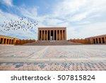 mausoleum of ataturk  ankara... | Shutterstock . vector #507815824