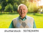 smile of senior man. person...   Shutterstock . vector #507824494