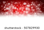 red christmas background with... | Shutterstock . vector #507829930
