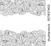 vector illustration of hand... | Shutterstock .eps vector #507837403