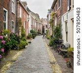 traditional dutch street ...   Shutterstock . vector #507850483