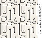 vector seamless pattern. modern ... | Shutterstock .eps vector #507854518