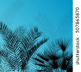 Palm Trees Detailed Graphic...
