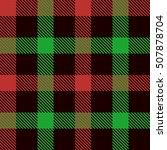 Christmas Tartan Seamless...