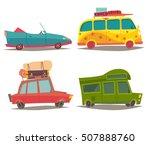 vehicle transport for travel... | Shutterstock .eps vector #507888760