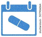drugs pill calendar day grainy... | Shutterstock .eps vector #507906064
