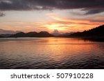 Stock photo filipino sunset at coron island 507910228