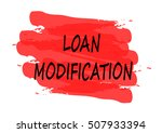 loan modification vector card | Shutterstock .eps vector #507933394