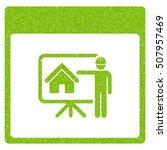 realty developer calendar page... | Shutterstock .eps vector #507957469