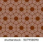 seamless sophisticated... | Shutterstock .eps vector #507958090