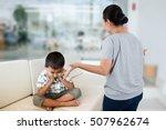 negative emotion parent... | Shutterstock . vector #507962674