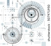 vector industrial and... | Shutterstock .eps vector #507971950