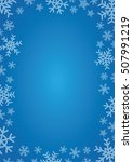 blue background with frame of...   Shutterstock .eps vector #507991219
