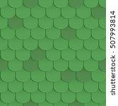 shingles roof seamless pattern. ... | Shutterstock .eps vector #507993814