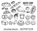 hand drawn vector illustration  ... | Shutterstock .eps vector #507997159