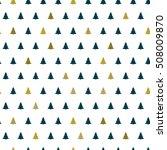 christmas tree seamless pattern.... | Shutterstock .eps vector #508009870