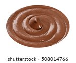 isolated chocolate mousse | Shutterstock . vector #508014766