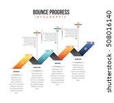 vector illustration of bounce... | Shutterstock .eps vector #508016140