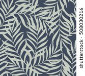 seamless pattern with hand... | Shutterstock .eps vector #508030216