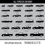 all types of car body. car type ... | Shutterstock .eps vector #508031173