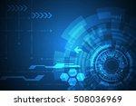 vector abstract background... | Shutterstock .eps vector #508036969