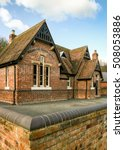 Old English School Building. A...