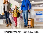 on their way to see world.... | Shutterstock . vector #508067386