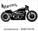 motorcycle icons | Shutterstock .eps vector #508074478