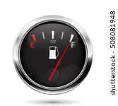 fuel gauge. full tank... | Shutterstock .eps vector #508081948