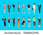 style and casual people | Shutterstock .eps vector #508082590