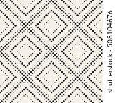 vector seamless pattern. modern ... | Shutterstock .eps vector #508104676