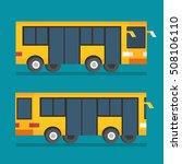 public transport bus....   Shutterstock .eps vector #508106110