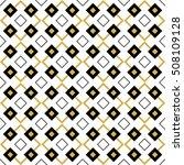 geometrical seamless pattern.... | Shutterstock .eps vector #508109128