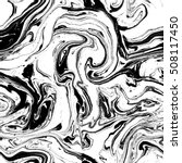 Seamless Marble Pattern. Black...