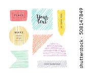 Hand Drawn Color Elements For...