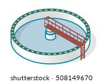 waste water treatment plant in... | Shutterstock .eps vector #508149670