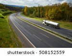 asphalt highway with driving a... | Shutterstock . vector #508152559