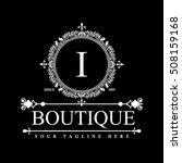 luxury logo template in vector... | Shutterstock .eps vector #508159168
