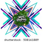 christmas design and elements... | Shutterstock .eps vector #508161889