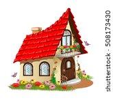 Fairytale House With A Balcony...