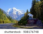 mount robson national park... | Shutterstock . vector #508176748