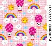 baby panda bear character...   Shutterstock .eps vector #508177354
