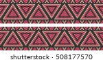 trendy  modern ethnic  beaded ... | Shutterstock .eps vector #508177570