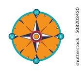 compass rose design   Shutterstock .eps vector #508203430