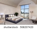 modern luxurious bedroom with a ... | Shutterstock . vector #508207420